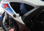 Slider Dianteiro Anker Suzuki Srad 750 2010 a 2013 Alumínio Anodizado