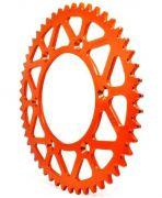 Coroa Aço Biker Laranja Ktm Husqvarna 125 150 200 250 300 350 450 Husaberg