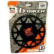 Coroa Aço Biker Yamaha Xtz 125 Passe 520H 50 54 dentes