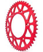 Coroa Aço Biker Yz F Wr F 125 250 450 Ttr 230 Xr 250 Tornado 48 Dentes Vermelho