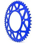 Coroa Aço Biker Yz F Wr F 125 250 450 Ttr 230 Xr 250 Tornado Azul
