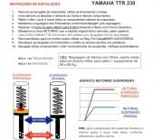 Emulador de Válvula Suspensão Dianteira Biker Yamaha Ttr 230
