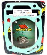 Flange Cilindro Para Pino Cursado 2mm Honda Cg 160 Nxr Bros 160
