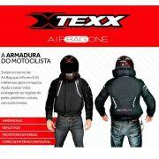 Jaqueta Texx Air Bag One Impermeável E Inflável C/ Proteções