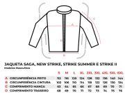 Jaqueta Texx Strike Summer 2 Ventilada Proteção Preto C/ Vermelho