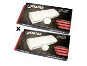 Kit 2 Lã de Vidro Foco Racing Escapamento Esportivo