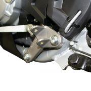 Kit Biker Suporte Curto Elevado Com Pedaleira T-rex Crf 250f