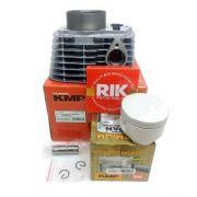 Kit Cilindro Completo Kmp Premium Pistão Anéis e Juntas Rik Crf 230