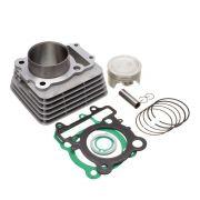 Kit Kmp C/Cilindro Pistao Anel E Junta Kit A Fazer 250