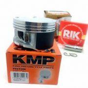 Kit Pistão Kmp Premium Anéis Rik Cb 300 Xre 300 Std Á 1.00mm