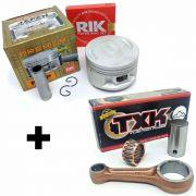Kit Pistão Kmp Premium Com Biela Txk Xt 225 Tdm 225 Ttr 230 Std Á 2.00mm