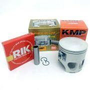 Kit Pistão Kmp Premium Dt 180 1.25 1.50mm Com Anéis Rik