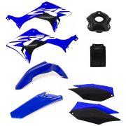 Kit Plástico Amx Completo Honda Crf 250f Com Adesivo
