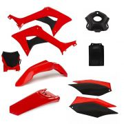 Kit Plástico Amx Completo Honda Crf 250f Com Number Plate Duo