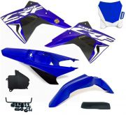 Kit Plástico Amx Select Crf 230 2008 a 2019 Com Adesivos Number Plate