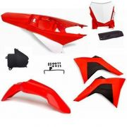 Kit Plástico Amx Select Crf 230 2008 a 2019 Com Number Plate Duo