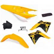 Kit Plástico Amx Select Crf 230 2008 A 2020 Com Adesivos