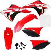 Kit Plástico Biker Elite Crf 230 08 a 19 Adesivos El1te - Monte O Seu