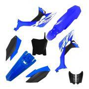 Kit Plástico Biker Evo Crf 250f Com Adesivos e Number Plate First