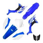 Kit Plástico Biker Evo Crf 250f Com Adesivos e Number Plate Next
