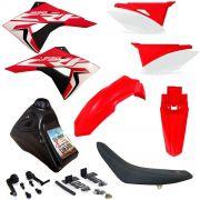 Kit Plástico Biker Next Completo Crf 230 Adaptável Xr 200 Xr 250