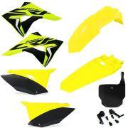 Kit Plástico Biker Next Crf 230 Com Number Plate X cell e Adesivos