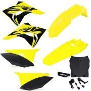 Kit Plástico Biker Next Crf 230 Com Number Plate F1rst e Adesivos