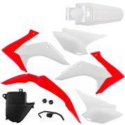 Kit Plástico Carenagem Crf 230 2008 Á 2018 Completo Pro Tork