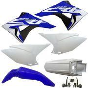 Kit Plástico Crf 230 Aletas Biker F-19  Avtec  Adesivos Crf230