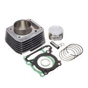 Kit Premium C/Cilindro Pistao Junta Kmp Anel Rik Cb 300R