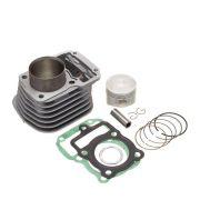 Kit Premium C/Cilindro Pistao Junta Kmp Anel Rik Cg 125 00 A 01  Xlr 125 01...