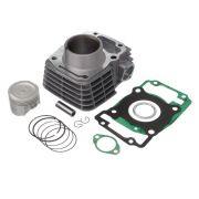 Kit Premium C/Cilindro Pistao Junta Kmp Anel Rik Cg 125 09... Bros 125 2013...