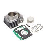 Kit Premium C/Cilindro Pistao Junta Kmp Anel Rik Cg 150 06... Bros 150 06...