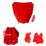 Kit Proteção Motor Quadro Number Plate Biker Honda Crf 250f