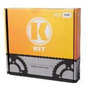Kit Transissão K Corrente C/ Retentor Coroa Pinhao 1045 Cg 125 00 Até 08