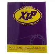 Kit Transmissão Xip Corrente Coroa Pinhão 1023 Dt 200