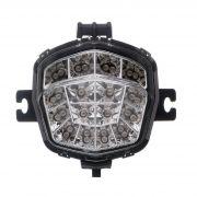 Lanterna Traseira Moto X Led Piscas Laterais Integrado Cristal Bandit 10...