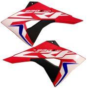 Par Aletas Tanque Crf 230 2015 á 2019 Biker F-19 Com Adesivos