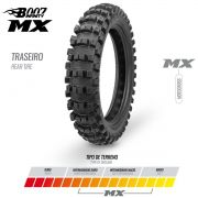 Par De Pneu Borilli B007 Infinity 110/100-18 e 80/100-21 Mx Motocross