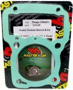 Pino Cursado 2mm Bros Cg 125 2003 Á 2008 Com Flange Cilindro Master