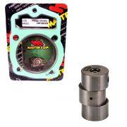 Pino Cursado 2mm Master cia Com Flange Crf 230 Xr 200 Cbx 200 Nx 200