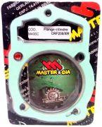 Pino Cursado 3mm Master Cia Com Flange Crf 230 Xr 200 Nx 200 Cbx 200
