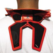 Protetor De Pescoço Cervical Mr Pro Neck Brace Motocross Trilha Adulto