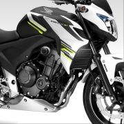 Slider Dianteiro Anker Honda Cb 500F 2013 a 2020 Alumínio Anodizado