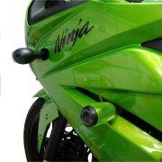 Slider Dianteiro Anker Kawasaki Ninja 250 2009 a 2012 Alumínio Anodizado