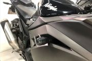 Slider Dianteiro Anker Kawasaki Ninja 300 2013 a 2020 Alumínio Anodizado