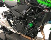 Slider Dianteiro Anker Kawasaki Ninja 400 2018 2019 2020 Alumínio Anodizado