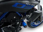 Slider Dianteiro Anker Yamaha MT 03 2016 a 2020 Alumínio Anodizado