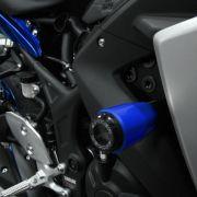 Slider Dianteiro Anker Yamaha R3 2015 a 2019 Alumínio Anodizado