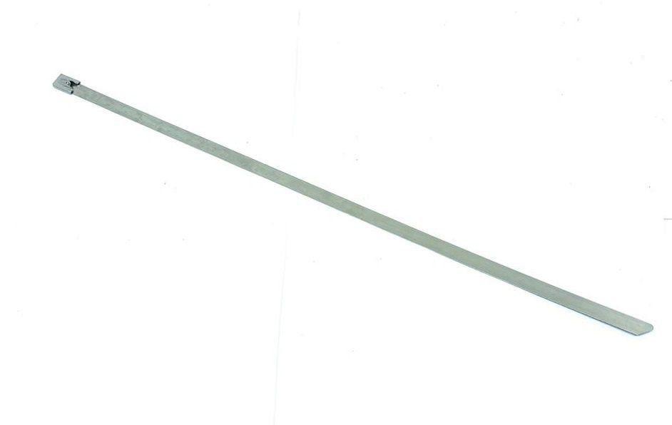 Abraçadeira Inox 35cm x 1cm Fixar Manta Térmica Para escapamentos